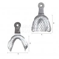 Edentulous Tray Refill (Stainless Steel)