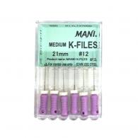 Medium K-Files 25mm