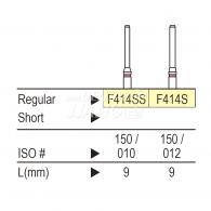 Diamond point FG (Fine) #F414S,F414SS