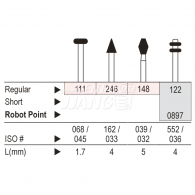 Diamond point FG (Regular) #111,122,246,148