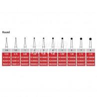 Alpen Carbide bur RA #1/4,1/2,1,2,3,4,5,6,7,8