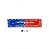 Articulating Paper 40㎛ 양면 #BK80 (blue/red)