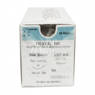 Rexsil Black Silk 5-0 #18mm (SK550G22)