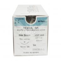 Rexsil Black Silk 6-0 15mm (SK650F06)