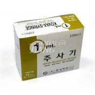 Kovax Syringe #1cc (26G 12.7mm)