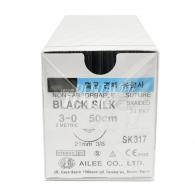Black Silk 3-0 각침,원침