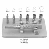 Tissue Punches Set #74.138.00