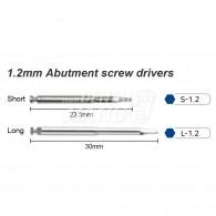 SD-Torque Tip #1.2mm Abutment Screw Drivers (팁만)