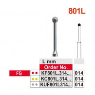 K-Diamond Bur FG #801L-014