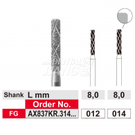Duo Rapid Grinder (cooling Diamond Bur) FG #AX837KR.012