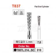FG Turbo Diamond Bur #T807L.018 (검정)