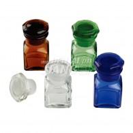 Glass Medicament bottle (Square)