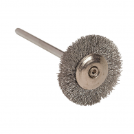 Silver wire brushes #166-0000