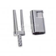 Metal Sleeve Bi-v-pin with sleeve #328-2000