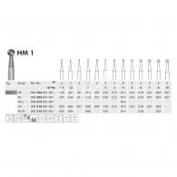 Tungsten Carbide Burs HP #HM1