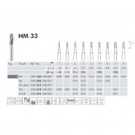 Tungsten Carbide Burs HP #HM33