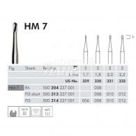 Tungsten Carbide Burs RA #HM7