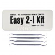 Implant Easy 2-I Kit (Plastic Curette)
