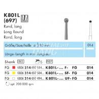 Z-Cut (Zirconia Diamond Point FG) #K801L
