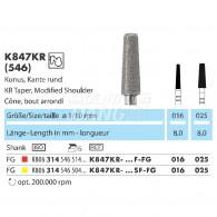 Z-Cut (Zirconia Diamond Point FG) #K847KR