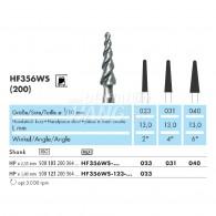 Milling Burs (Cone Cutter) HP #HF356WS