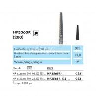 Milling Burs (Cone Cutter) HP #HF356SR-023