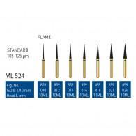 Gold Diamond Burs (Standard) #859
