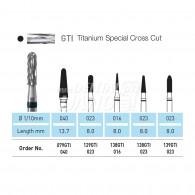 Denture Bur (Titanium Special Cross Cut)