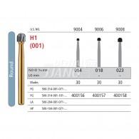 Jet Carbide bur FG #9004, 9006, 9008