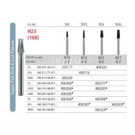 Carbide bur HP L #701L, 703L