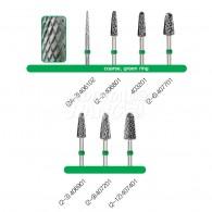 Denture Bur #Coarse (Green Ring)
