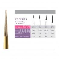 Gold Finishing Burs FG (EF Series) #EF3,EF4,EF6,EF9