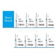 Diamond Bur Short shank (Standard) #TR