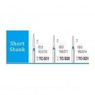 Diamond Bur Short shank (Standard) #TC-S21