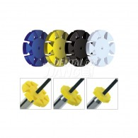 [정품] Safety Memo Discs (SMD) #Blue (반투명)