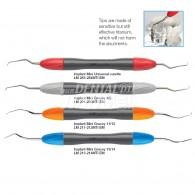 Titanium tips for implants