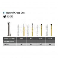 Speedster Bur (Round Cross Cut) FG #S1