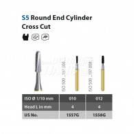 Speedster Bur (Round End Cylinder) FG #S5
