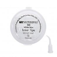 White Mini Laser Tip #1247