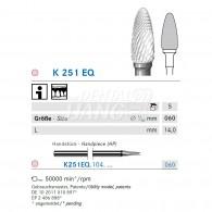 Ceramic Denture Bur #K251EQ-060