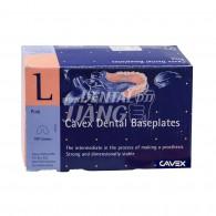 Cavex Dental BasePlate (Pink)