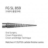 Long Shank Bur FG LS #859-010